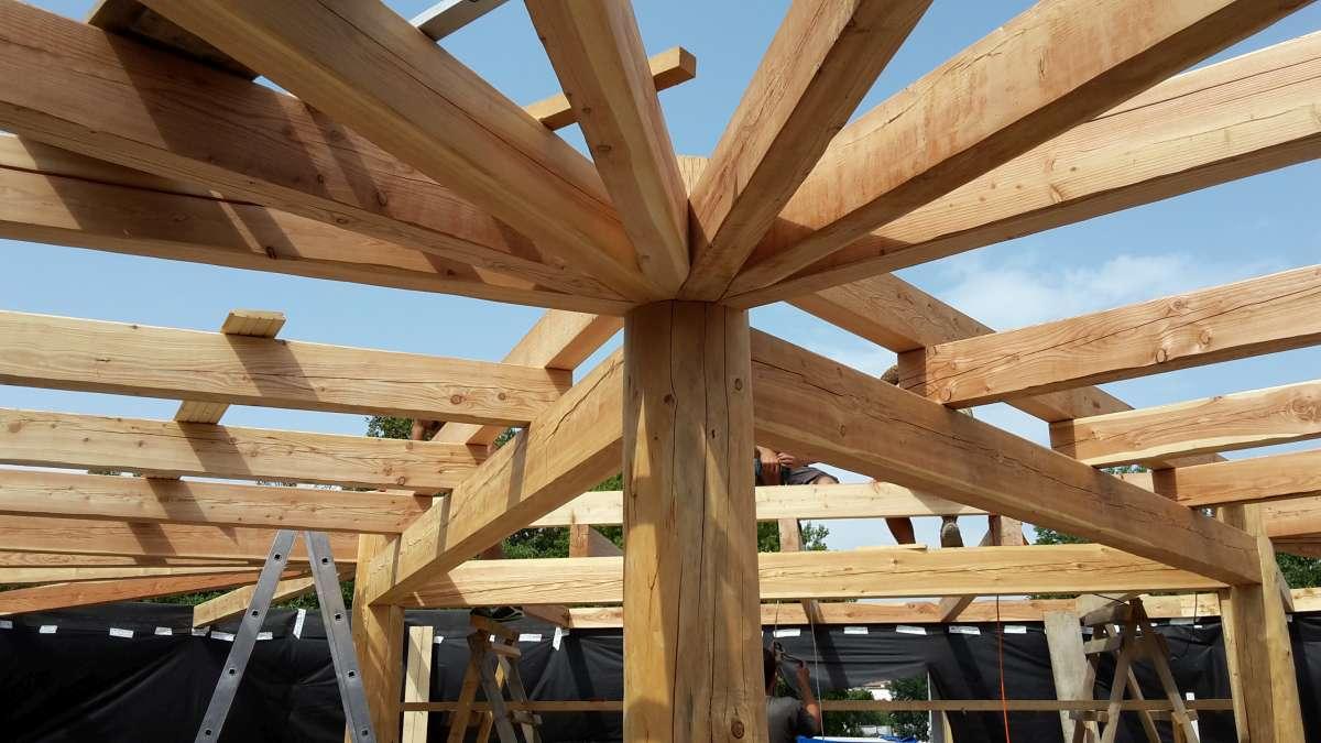 drevená konštrukcia